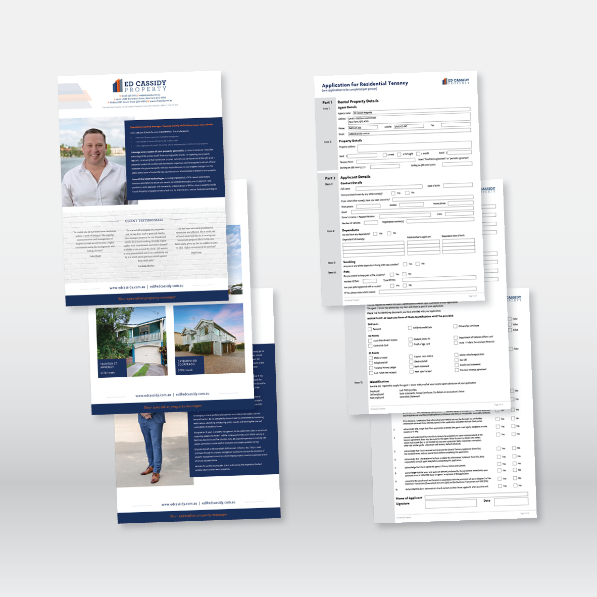 Flyers & Interactive Forms